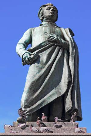 national poet: Adam Mickiewicz Stock Photo