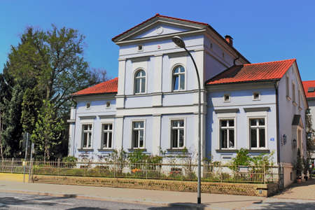renovated: Renovated Old Building Stock Photo