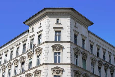 prenzlauerberg: old building with stucco