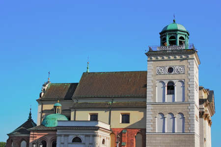 anna: Sankt Anna Church Stock Photo