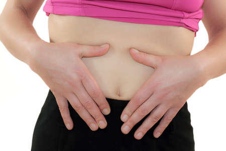 colonoscopy: Woman have bellyache