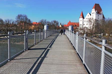 connectedness: Ingolstadt Donau Bridge