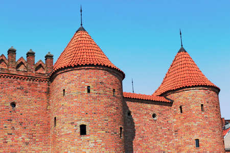 castle conditioning: Warsaw castle towers Editorial