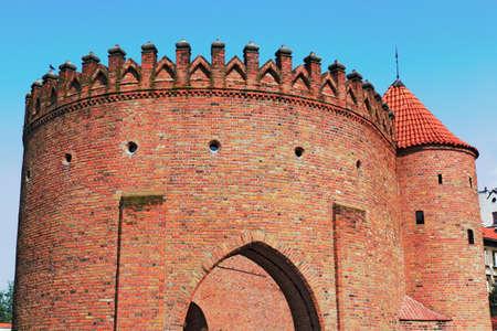 castle conditioning: Warsaw Barbican Editorial