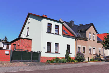 town idyll: renovated house