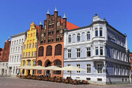 gable home renovation: Stralsund - old city