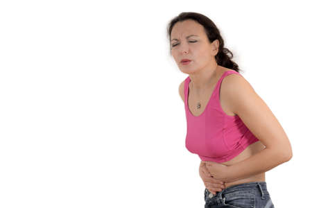 colonoscopy: stomach cramp