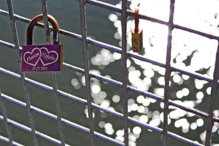 connectedness: Love Padlock