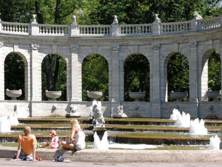 prenzlauerberg: fountain fairy tale