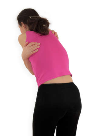 cramping: Back pain