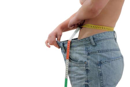 successfull: successfull diet Stock Photo