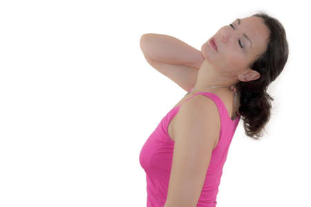 cramping: neck tension