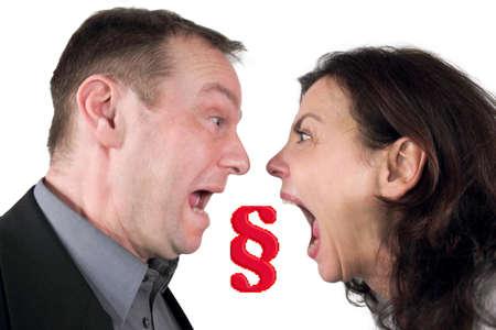 divorce war photo
