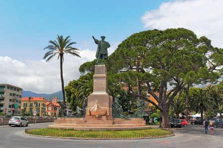 Rapallo Columbus Monument photo