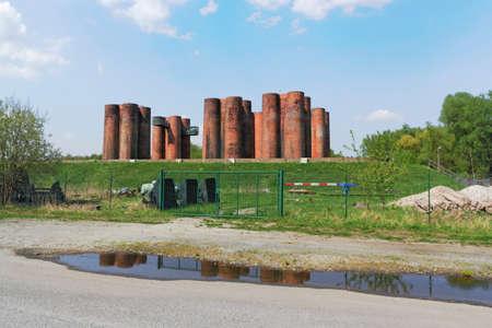 coking: Lauchhammer bio-towers