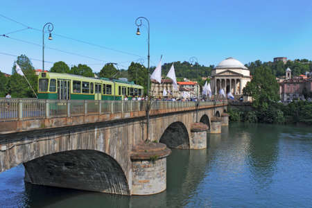 urban idyll: Turin Stock Photo