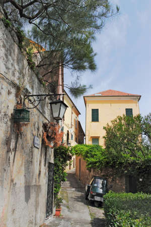 residential idyll: Cervo - Old City