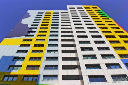 apartment market: anonimato Foto de archivo