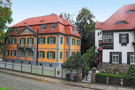 residential idyll: renovated old buildings