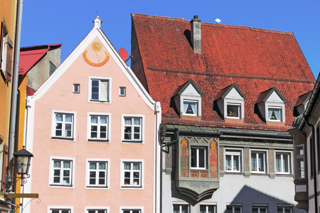 residential idyll: Fuessen Old City