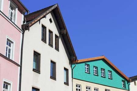 restored buildings photo