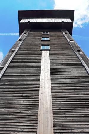 silent film: Lookout tower Kranichsberg
