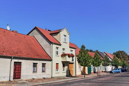 residential idyll: Rheinberg Stock Photo