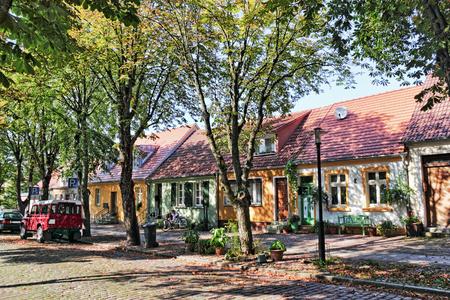 living idyll: Living idyll in Rheinberg Stock Photo