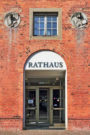 town halls: City Hall Frankfurt  Oder