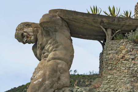 hercules: Sculpture of Hercules Stock Photo