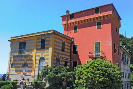 old  buildings: Old Buildings in Portofino