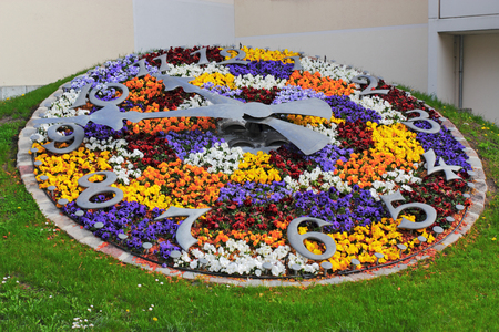 living idyll: Flower Clock
