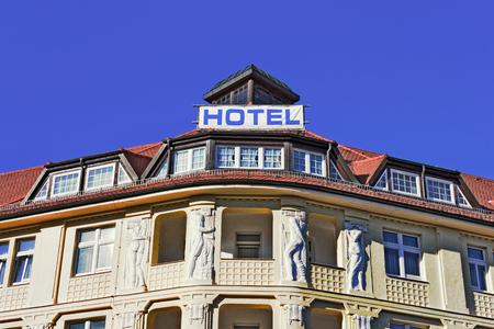 refurbishment: Old Building in Torgau Editorial