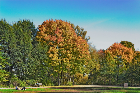 prenzlauerberg: Park Friedrichshain
