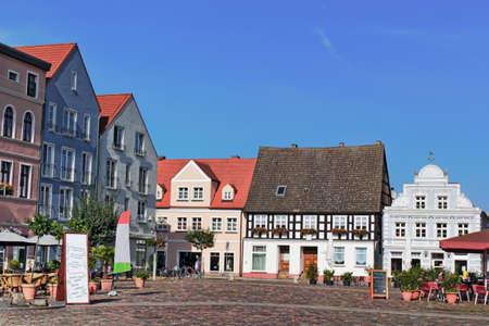 gable house: Ueckermuende Market