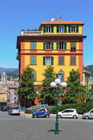 living idyll: Genoa Stock Photo