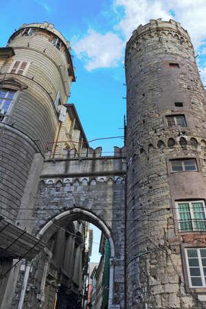 living idyll: City Gate in Genoa