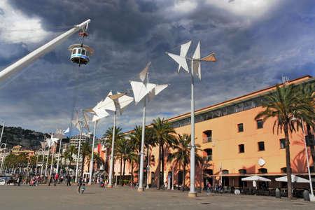 porto: Genoa Porto Antica Stock Photo