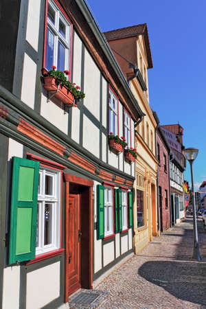 town idyll: Half-timbered in Stendal Editorial