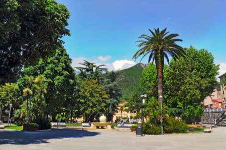 living idyll: Carrara City Park