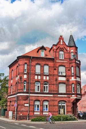 living idyll: Brick Building