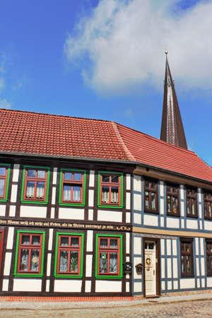 living idyll: Salzwedel Stock Photo
