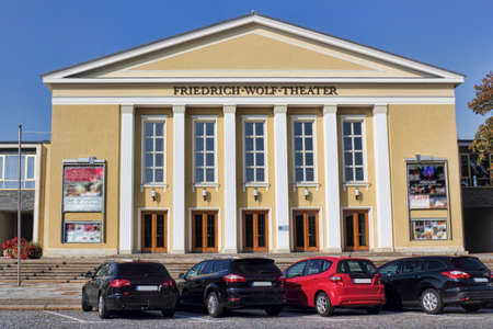gabled house: Friedrich Wolf Theater