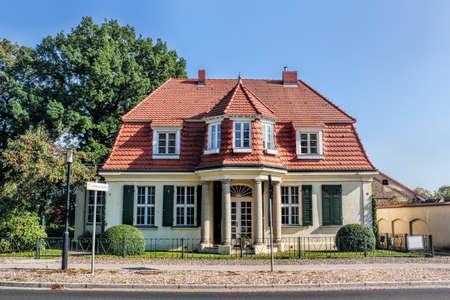 brandenburg home ownership: Rheinsberg city villa Editorial