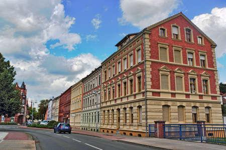 residential idyll: Stendal Stock Photo