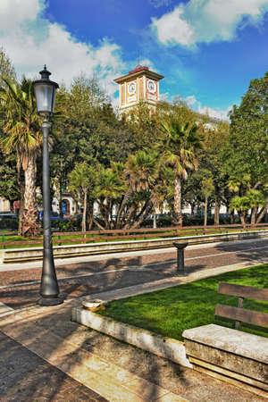 living idyll: Salerno City Park
