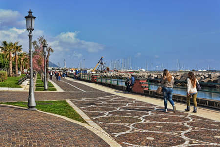 town idyll: Salerno waterfront