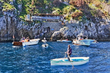 capri: Capri Blue Grotto