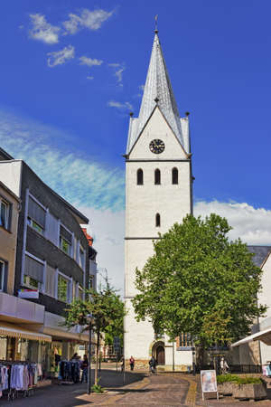 town idyll: Geseke with parish church