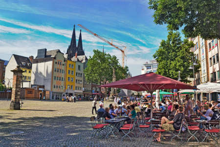 town idyll: Cologne